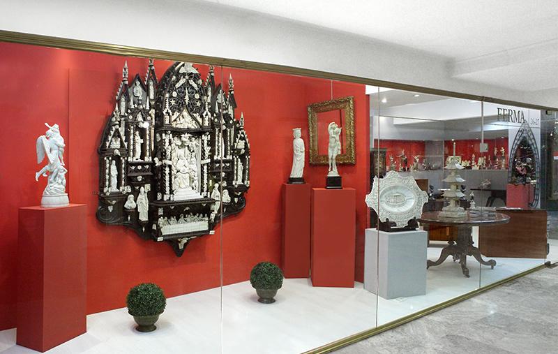 FERMA ANTIGÜEDADES - Art Decó, marfiles y antigüedades en general