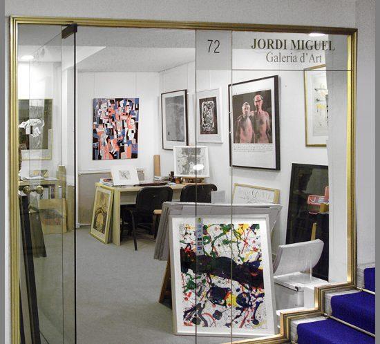 JORDI MIGUEL GALERIA D'ART Arte contemporaneo y fotografía